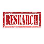 Research-stamp — Stok Vektör