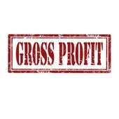 Gross Profit-stamp — Stock Vector
