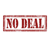 No Deal-stamp — Stock Vector
