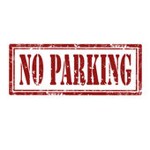 No Parking-stamp — Vector de stock