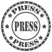 пресс штамп — Cтоковый вектор