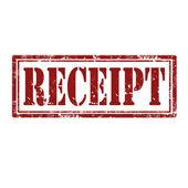 Carimbo de recibo — Vetorial Stock