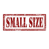 Small Size-stamp — Stock Vector