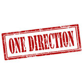 One Direction-stamp — Stockvector