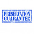 Preservation Guarantee-stamp — Stock Vector #38737945