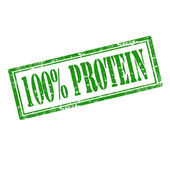Protein-stamp — Vettoriale Stock