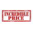 Incredible Price-stamp — Vector de stock #39546183