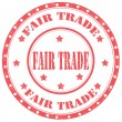 Stock Vector: Fair Trade-stamp