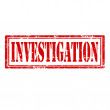 Investigation-stamp — Stock Vector #40242457