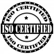 Stock Vector: ISO Certified