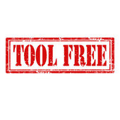 Tool Free-stamp — Stock Vector