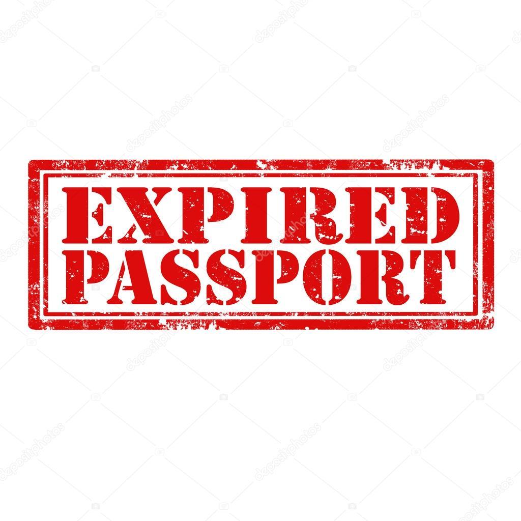 Expired passport as id