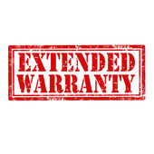 Extended Warranty-stamp — Stock Vector