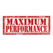 Maximum Performance-stamp — Stock Vector