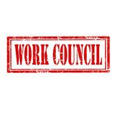 Conselho de trabalho-carimbo — Vetor de Stock