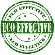 Eco Effective-stamp — Stock Vector #41376007