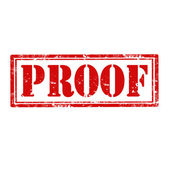 Proof-stamp — Stock Vector