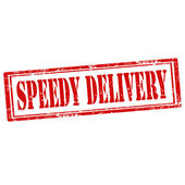 Speedy Delivery-stamp — Stock Vector
