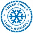 Keep Cool-stamp — Stock Vector