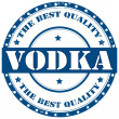 Stock Vector: Vodka-stamp