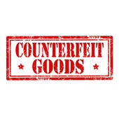 Counterfeit Goods-stamp — Stock Vector