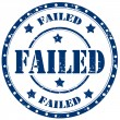 Stock Vector: Failed-stamp