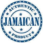 Jamaican-stamp — Stock Vector