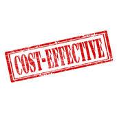 Cost Effective-stamp — Stock Vector