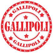 Gallipoli-stamp — Stock Vector