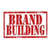 ブランドの建物スタンプ — ストックベクタ