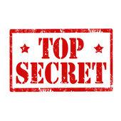 Top Secret-stamp — Stock Vector