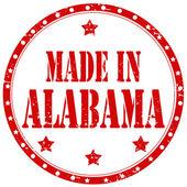 Made In Alabama-stamp — ストックベクタ
