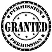 Granted-stamp — Stock Vector