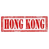 Hong kong-timbre — Vecteur