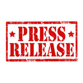Press Release-stamp — Stock Vector