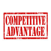 Competitive Advantage-stamp — Stock Vector