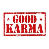 Good Karma-stamp — Vetorial Stock