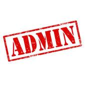 Admin-stamp — Stok Vektör