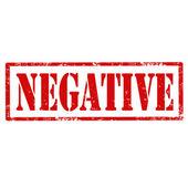 Negative-stamp — Stock Vector