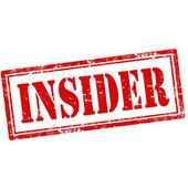 Insider-stamp — Stock Vector