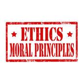 Ethics-stamp — Stock Vector