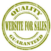 Website For Sales-stamp — Stock Vector