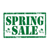 Spring Sale-stamp — Stock Vector