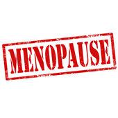 Menopause-stamp — Cтоковый вектор