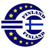 Finlandia etykiety — Wektor stockowy