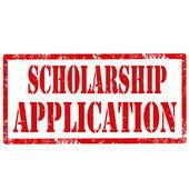 Scholarship Application — Stock Vector