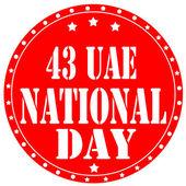 United Arab Emirates National Day — Stock Vector