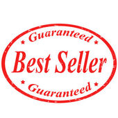 Best Seller-stamp — Stock Vector