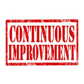 Continuous Improvement-stamp — Stock Vector