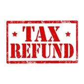Tax Refund-stamp — Vector de stock